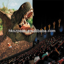 HD high quality 3d 4d movie for 4d cinema equipment 4d theater film