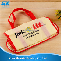 friendly foldable gift non woven bag