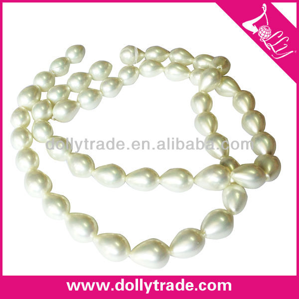 Hot Selling Water Drop Shape Wholesale Water Fresh Pearl Beads Strand