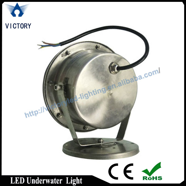 china supply factory led surface mounted pool light, led underwater lamp DC12-36v low voltage CE,ROHS