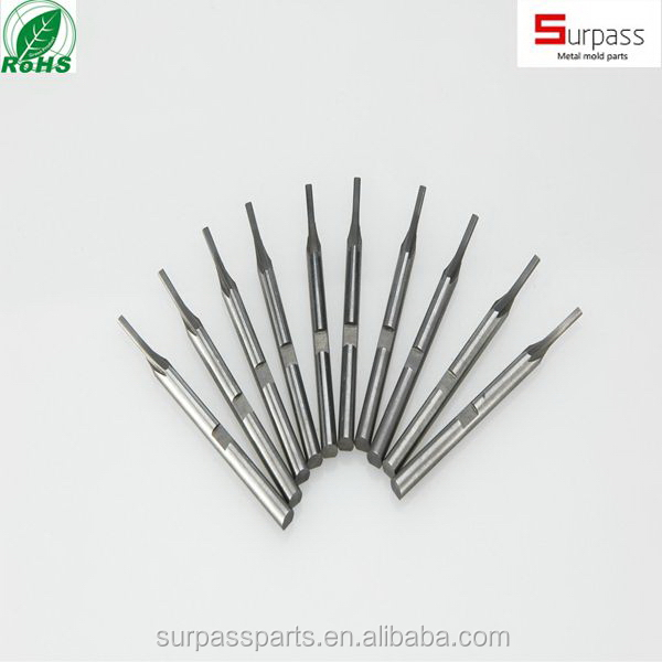 Precision Mold Components with Mirror finish hardening punch pin
