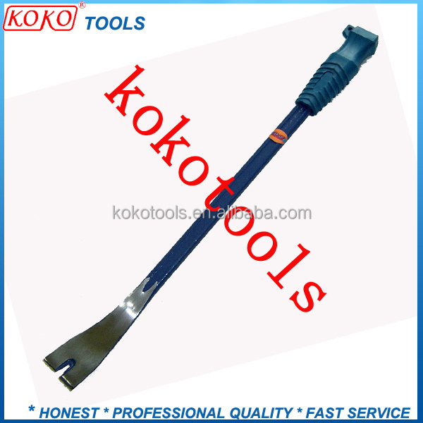 metal steel masonry tools wrecking crow bar types large pry bars nail puller plastic pry bar