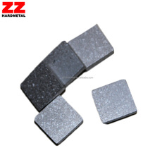 tungsten carbide composite rubber liner backed steel plate for mining
