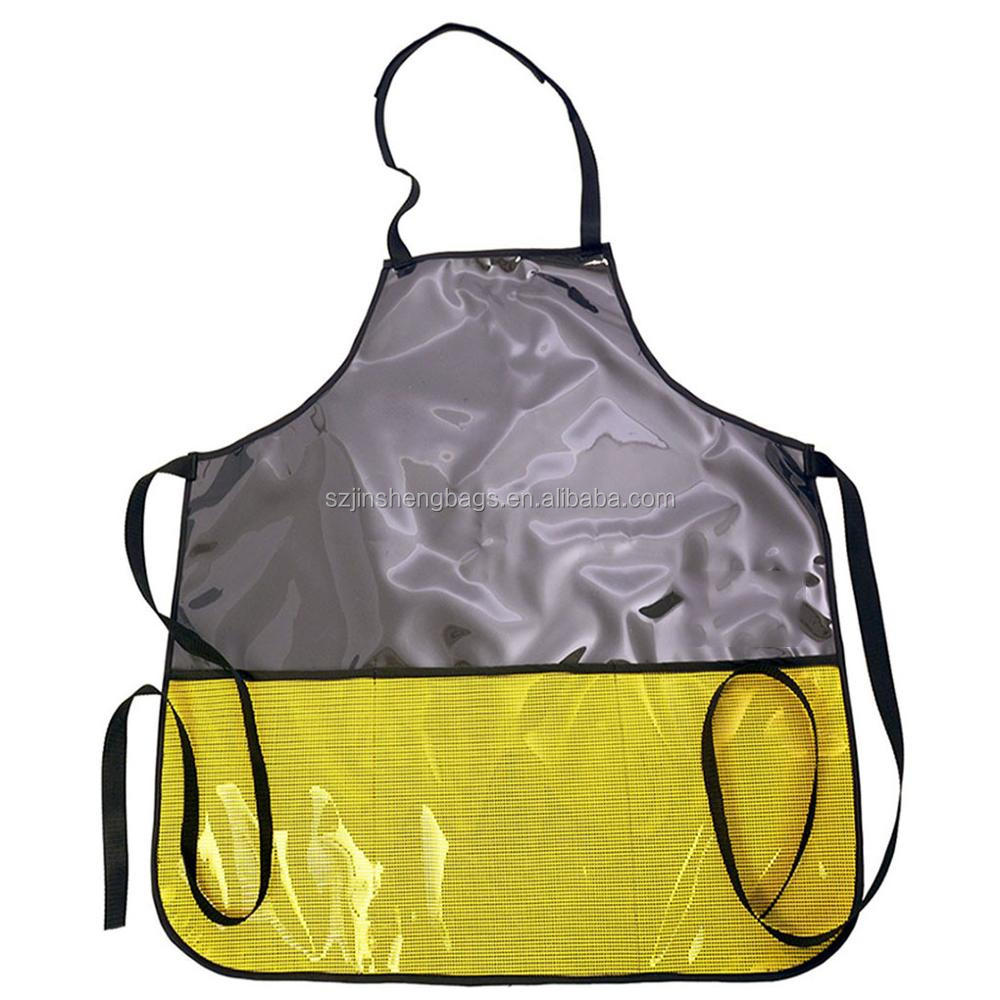 Waterproof PVC BBQ tools apron