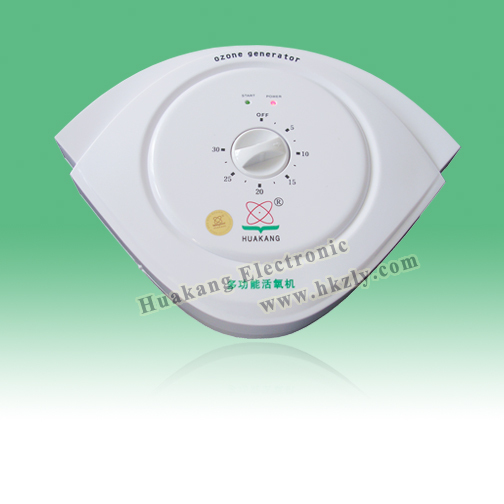 Home ozone therapy equipment for skin caring and disinfects various bacteria