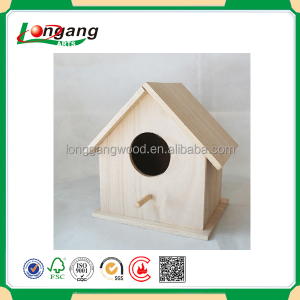 Hot Sale Customized Wholesae Pet Cages/Carriers & Houses Type and Houses Cage/Carrier & House Type wooden bird house