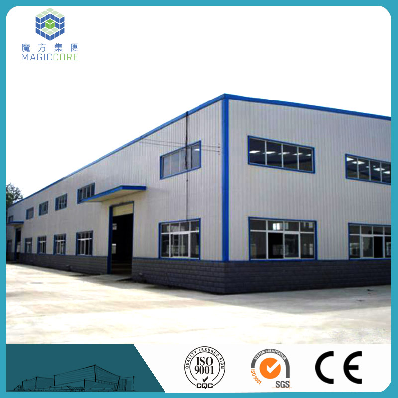 low cost Prefab light steel structure professional construction steel building