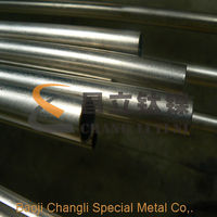 ASTM B338 Gr9 seamless titanium tube for bicycle frame