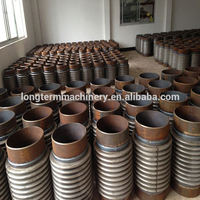Single SS304 Axial Expansion Joint with BS4504 flange