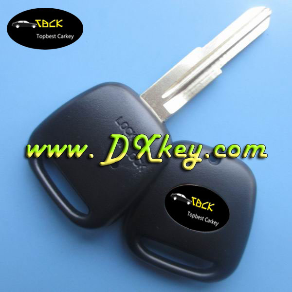 Dxstore promotional car key for toyota one button key 1 side-button remote key shell (TOY41) right blade