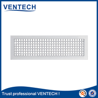 air grille double deflection type in aluminum
