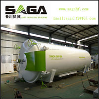 Vacuumed kiln drying timber equipment with RF heating(4.5CBM)