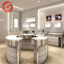 jewelry round display counter table design jewelry shop furniture for sale
