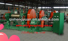 ISO9001 Two-Roller Fine Rubber Crusher /Tire Recycling Machine for rubber powder ZQ-Reducer XKP-560 of factory in china