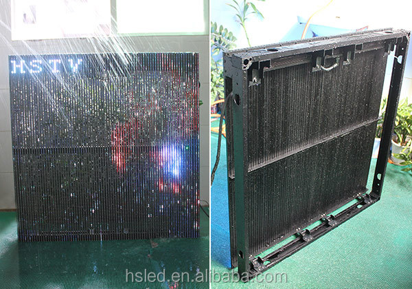 P12.5-25mm led billboard display/Outdoor SMD Led Strip Curtain Display/full color led display