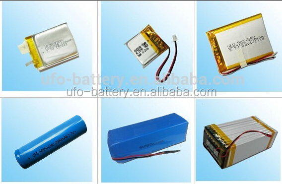 Custom High Output Li-polymer Battery Pack 25.9V 8000mAh with Separate Charge and Discharge Wires