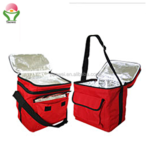 Newest style promotional 600D polyester folding Insulation package lunch picnic cooler bag