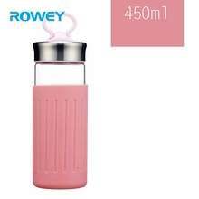450ml New Portable Multifunctional Drink Single Wall ss Sport Flip Top Water Bottle Blank