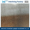 China klnitted fabric ployester garment woven fusible interfacing(5100) With SGS