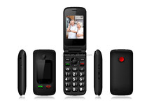 wholesale senior citizen mobile phone with fm/mp3/dual sim/bluetooth/quadband large button cell phone for elder