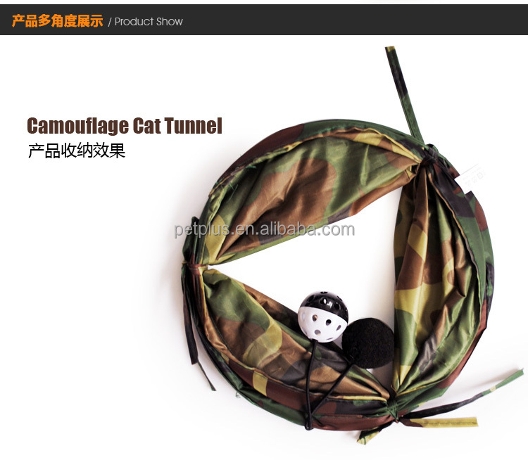 Foldable Fashion Top pet toys manufacturer cat tree plastic cat tunnel