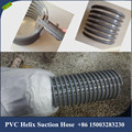 150mm cement, sand and gravel transport special industrial pipe, PVC plastic ribbed spiral wear-resistant water suction pipe