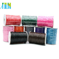 XULIN Manufacture Thin Korea Waxed Cotton Cord Without Stretch With Different Size And Colors From Stock For Jewelry making