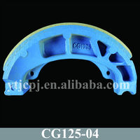 Asbestos Free Brake Shoe Motorcycle Of CG125