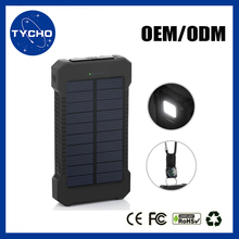 With Compass Move Power Solar Charger Green Power Solar LED Light Solar Charger Power Bank