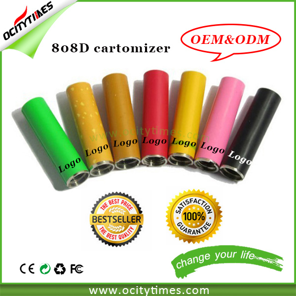 Logo printing for kr808d 2 cartomizer/808 Tank Clearomizer/808d e-cigarette 808d-1 cartomizers