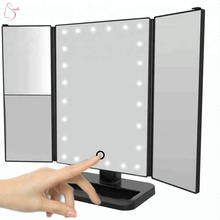 Touch Screen Makeup Mirror with 24 LED Lights