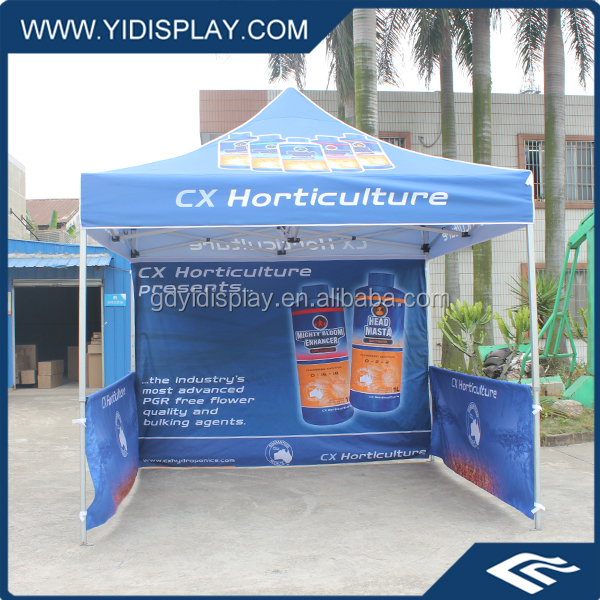 Customized printed outdoor pop up canvas event canopy tent