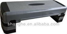 high quality adjustable aerobic step/commercial step/ plastic step