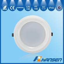 SMD led recessed 25w 7inch IP40 CE ROHS ETL TUV SAA approved down light 3 years warranty household