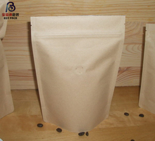Best price wax coated food bakery kraft brown paper bag
