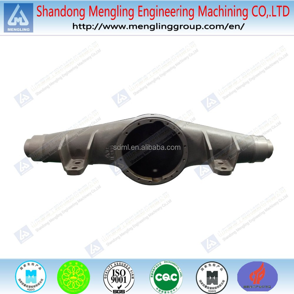 Loader Parts Axle House Steel Casting