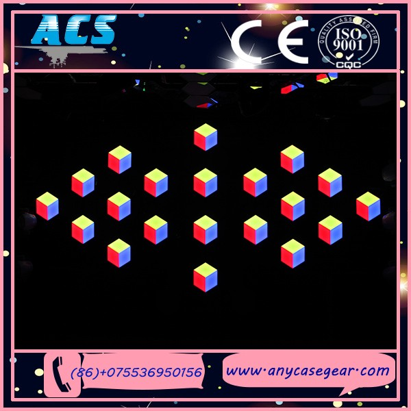 ACS Fashion 3D Magic Music control Dj Disco LED Stage Light,led backlight stage lighting