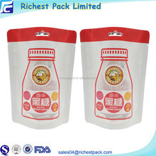 2017 Hottest New Doybag Bag Laminated Aluminum Foil Lined Stand Up Pouch 1Kg Plastic Packaging