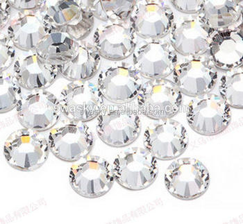 SS16 Hot Fix Crystal Glass Beads Loose DMC Rhinestone