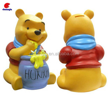 Customized Plastic Vinyl Coin Bank OEM Resin Money Saving Box Factory