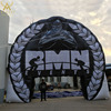 Large inflatable tyre arch / giant inflate tire tunnel replicas