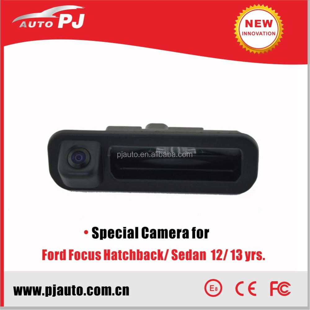 Sony CCD Specific Car Rear View Camera for Ford Fcs Classic hatchback/sedan, Super High Resolution & Night Vision (PJ-TCD-FD01)