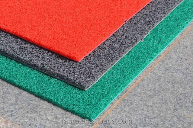 Green Plastic Carpet Car Mat Doormat Corridor Floor Mat