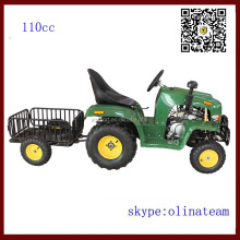 hot sale china cheapest 4 wheel 110cc mini farm tractor price