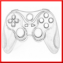 Wholesale New products compatible for microsoft wired controller for ps3