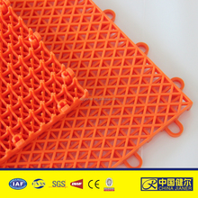 PP interlocking sports flooring Volleyball courts used floor