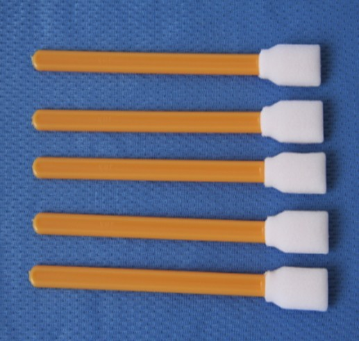 Head cleaner swab, 100% cleaning cotton stick used eco solvent printers