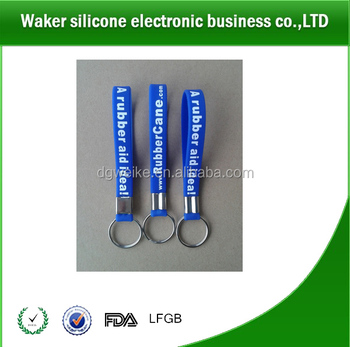 2017 Cheap Custom Silicone Keychains Manufacturers