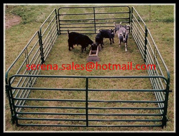 China manufacture hot galvanized livestock sheep corral fencing panels
