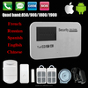 GSM Wireless Alarm System Support APP&Android Operation